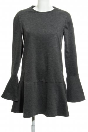 Zara Jerseykleid grau Casual-Look