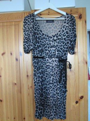 Zara Jerseykleid leopard Gr. M NEU