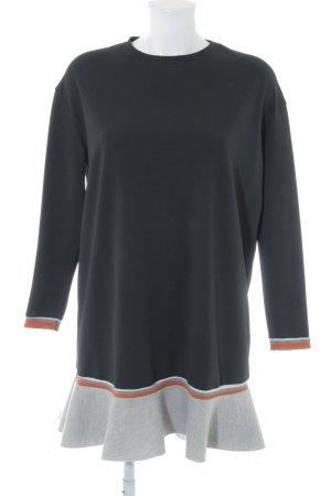 Zara Jerseykleid mehrfarbig Casual-Look