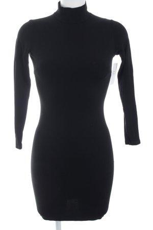 Zara Robe en jersey noir élégant