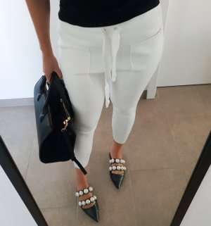 Zara Pantalon blanc