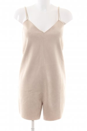 Zara Jumpsuit creme Casual-Look
