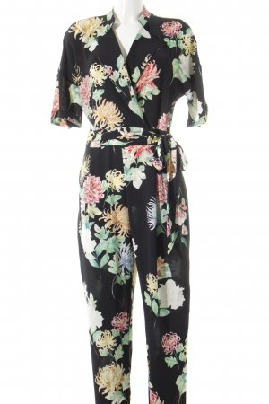 Zara Jumpsuit Blumenmuster Casual-Look