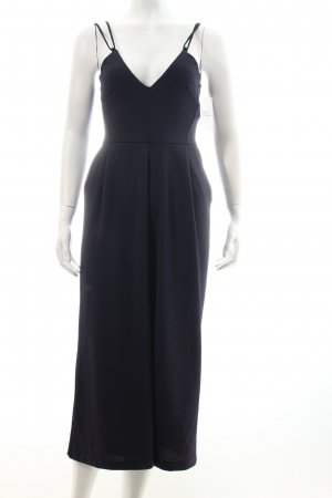 Zara Jumpsuit dunkelblau Eleganz-Look