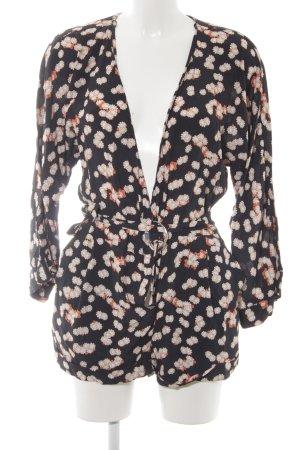 Zara Jumpsuit florales Muster Beach-Look