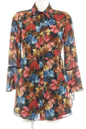 Zara Jumpsuit florales Muster Casual-Look