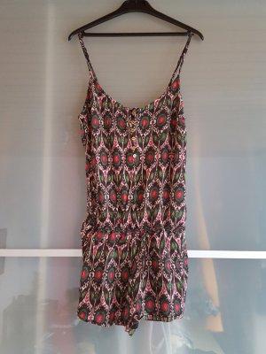 Zara Jumpsuit in tropischem Muster