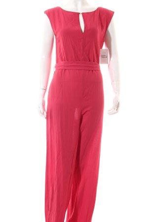 Zara Jumpsuit pink Street-Fashion-Look