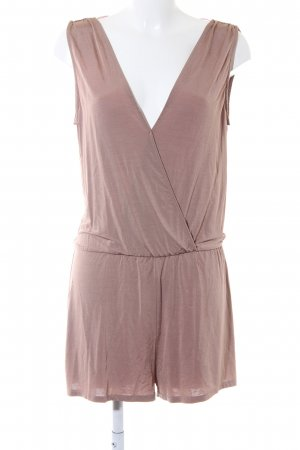 Zara Jumpsuit roségoldfarben Casual-Look