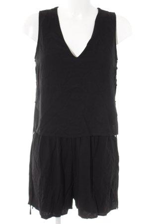 Zara Combinaison noir style décontracté