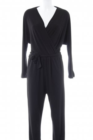 Zara Jumpsuit schwarz Casual-Look