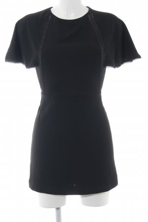Zara Jumpsuit schwarz florales Muster Casual-Look