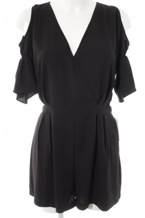 Zara Jumpsuit schwarz Party-Look