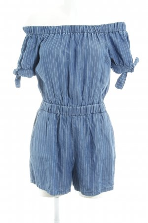 Zara Mono azul acero raya diplomática estilo marinero