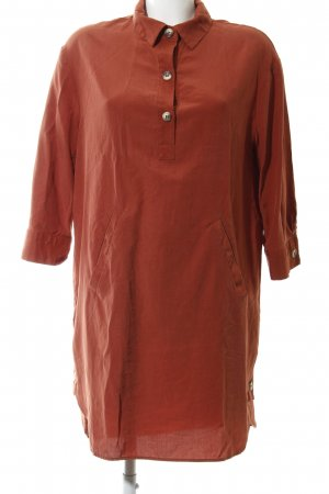 Zara Caftano arancione chiaro stile professionale