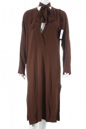 Zara Caftan brown street-fashion look