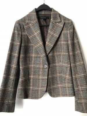 Zara Woman Wool Blazer multicolored wool