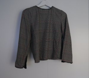 Zara Blouse à carreaux multicolore