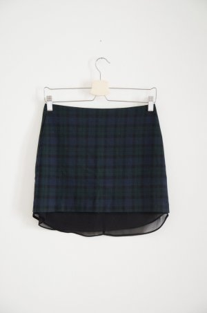 Zara Miniskirt multicolored polyester