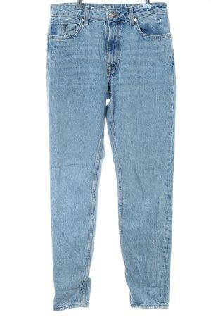 Zara Jeans a carota blu stile casual