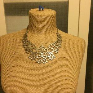 Zara Statement Necklace silver-colored