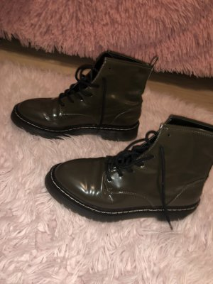 Zara khaki boots