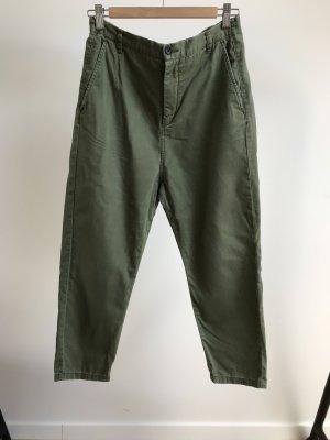 Zara khaki Cargo Hose - leicht baggy
