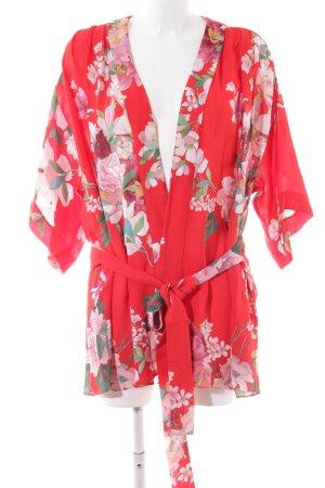 Zara Kimono florales Muster schlichter Stil
