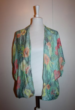 Zara Kimono hawaii blumenprint