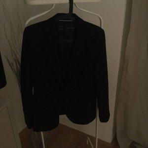Zara klassischer Blazer in schwarz