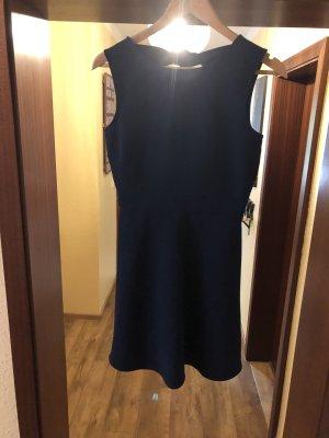 Zara Mini vestido azul oscuro