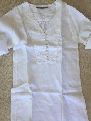 Zara Robe chemisier blanc