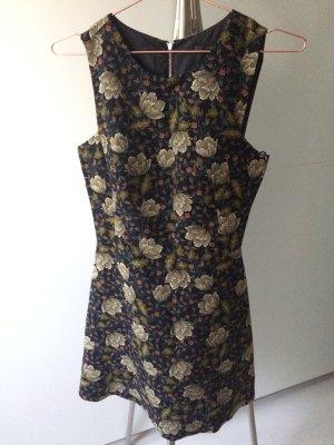 Zara Kleid 70 Jahre Print