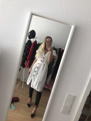 Zara Robe chiffon blanc