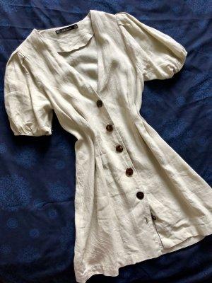 ZARA Kleid aus 100% Leinen XS