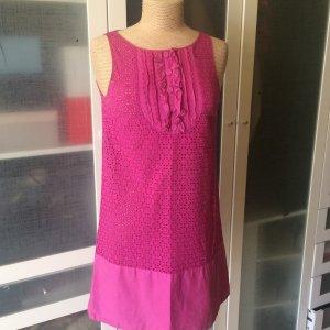 Zara Kleid aus Spitze fuchsia Gr. M