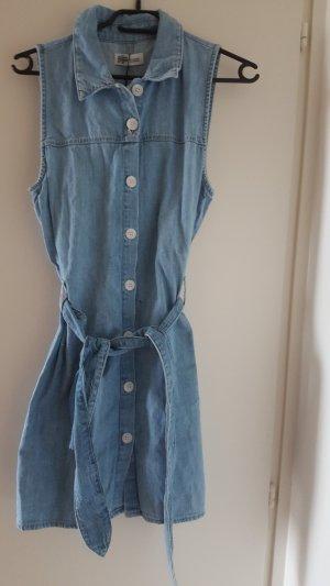 Zara Denim Dress steel blue
