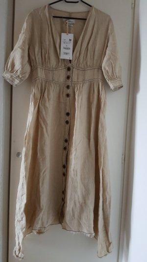 Zara Kleid Blogger Midi kleid  linien Dress
