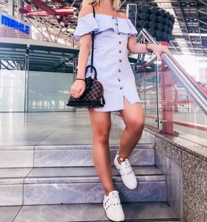 Zara Kleid Blogger Mini kleid