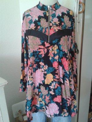 ZARA Kleid Blumen Print