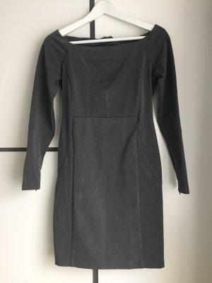 Zara Trafaluc Falda estilo lápiz gris