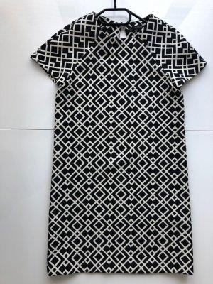 Zara Mini vestido blanco-negro