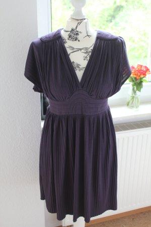Zara Kleid Gr. M Faltenlook A-Linie Mini-Kleid