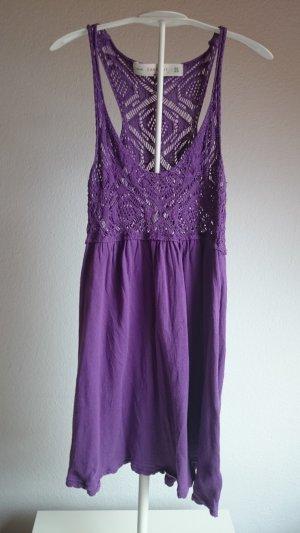Zara Robe trapèze violet