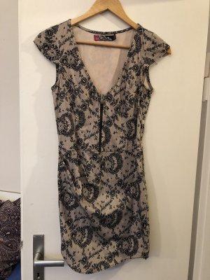 Zara Trafaluc Mini-jurk veelkleurig