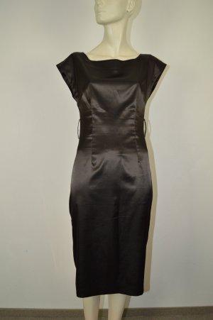 Zara Kleid Gr. S braun glänzend