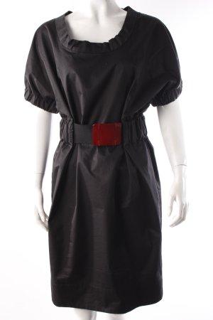 Zara Kleid Gürtel schwarz