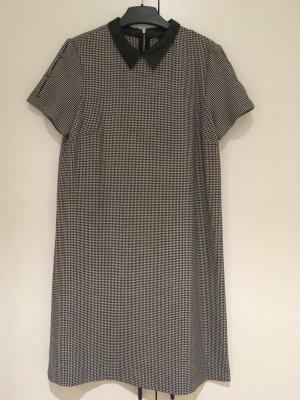 Zara A Line Dress black-white