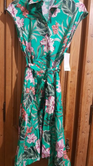 Zara Kleid hemdblusenkleid blogger