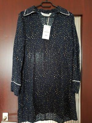 Zara Shirtwaist dress steel blue